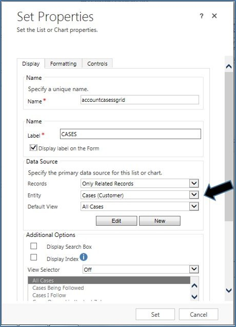 Microsoft Dynamics CRM - Chart Pane Not Rendering in Associated Views 8