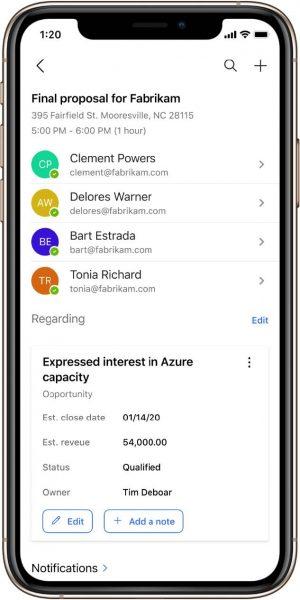 Dynamics 365 Mobile App